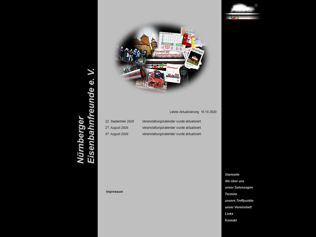 bisherige Homepage